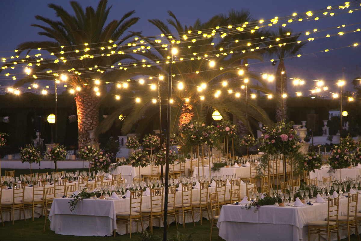 jardines caballo blanco banquete
