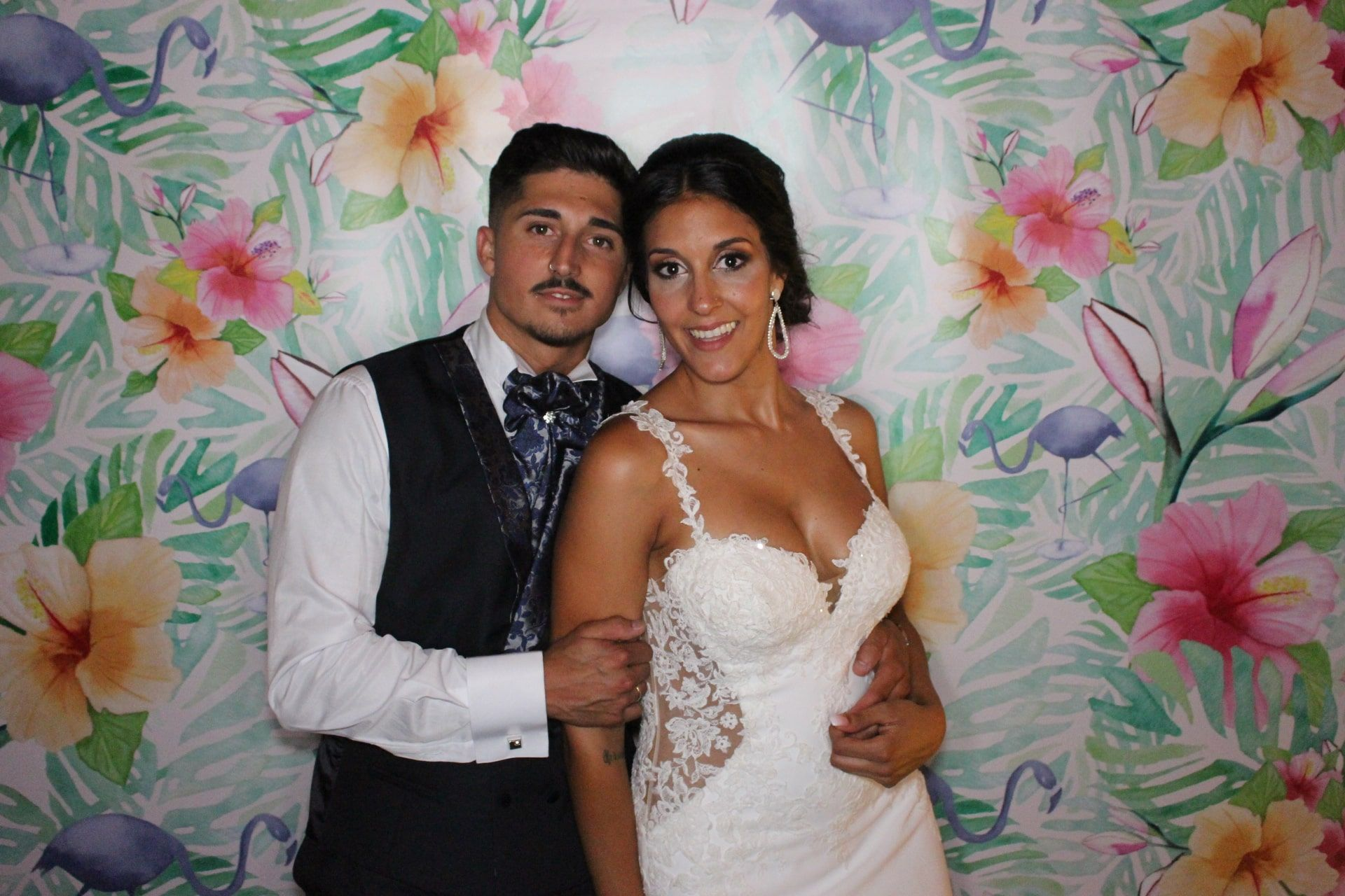 novios fondo flamenco